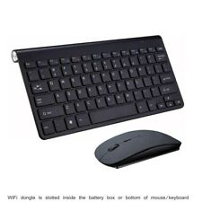 "Wireless MINI Mouse & Keyboard for Polaroid 40"" Full HD LED TV BK US"