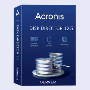 Acronis Disk Director 12.5 [ Server ] ☑️ ᒪifetime Κey + BOOT CD ISO Download