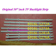 12pcs /set Original 50inch LG LED TV Backlight Strip 6916L-1241A L1 L2 R1 R2