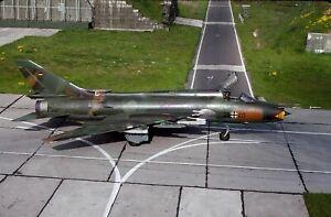 Original colour slide Su-22M-4 Fitter 25+40 of East German Air Force