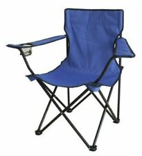 Outdoor Canvas Garden Camping Beach Patio Blue Foldable Chair