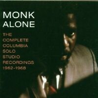 """THELONIOUS MONK """"MONK ALONE: THE COMPLETE..."""" 2 CD NEW"""