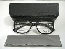 Kenneth Cole New York KC0235 KC 0235 001 Shiny Black Eyeglasses Rx-Able Frame