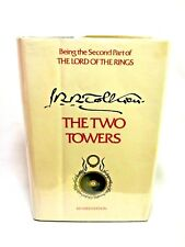 LOTR Lord Of The Rings Two Towers 5th Print Revised Edition Hardback Cover Book