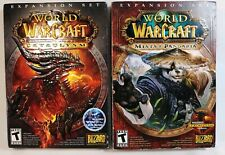World of Warcraft: Mists of Pandaria & Cataclysm LOT Blizzard, Windows/Mac 12/10