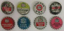 Canada Dry Soda Pop Bottle Cap Crown Lot of 8 - cork/vinyl/used/unused