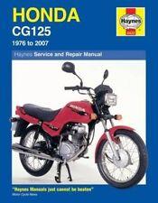 Honda CG125 Service and Repair Manual: 1976 to 2007 (Haynes Service and Repair M