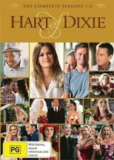 Hart Of Dixie - Season 1 + 2 + 3 + 4 DVD R4 Brand New!!!