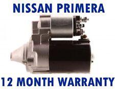 NISSAN PRIMERA (P11) (P12) 1.6 1.8 16V TRAVELLER 1999 - 2015 STARTER MOTOR