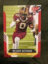 Rashod Bateman score Rc red parallel 2021 golden gophers #327