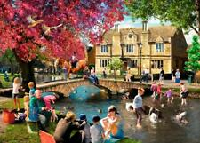 The House Of Puzzles - 1000 PIECE JIGSAW PUZZLE - Picnic By The River