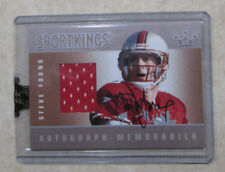 2007 SPORT KINGS STEVE YOUNG AUTO JERSEY CARD SAN FRANCISCO 49ers RARE