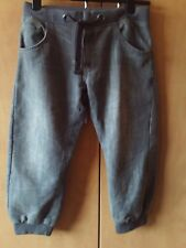 "Grey Jeans ** 30"" waist ** Elasticated Waist & Cuffs ** Denim Co @ Primark"