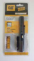 New! CAT Pro Construction Grade 100 Lumen LED Flashlight, Pocket clip  #CT12351P