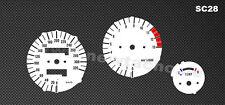 Honda CBR 900 SC28 Tachoscheiben Tacho CBR900 Gauge Dial Ziffernblätter disk neu