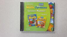 Houghton Mifflin California Math Kindergarten Lesson Planner CD-ROM 0618962034