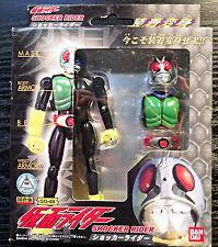 2004 Bandai Kamen Masked Rider Shocker (Blue) GD-48 Chogokin Popy Shogun NY