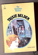 Trixie Belden  THE GATEHOUSE MYSTERY Oval pb  eX+