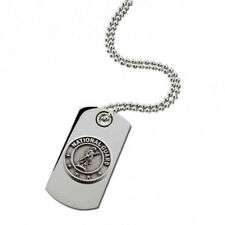 U.S. Military Sterling Silver Dog Tag - U.S. National Guard - NEW