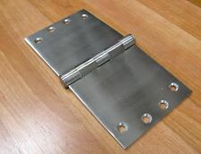 200mm WIDE THROW BUTT HINGES SOLID STAINLESS STEEL 3.5mm THICK, per each