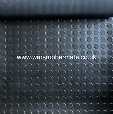 Rubber Flooring Mat Rolls 1m to 10m and 1.2m/1.5m/1.8m Wide X 3mm Thick-NonSlip
