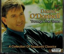 DANIEL O' DONNELL - THROUGH THE YEARS - 60 SONGS - MINT 4 CD SET