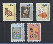 Kosovo 2001 Freimarken Frieden nur €  Mi.-Nr. 11-15 Satz 5 Werte postfrisch **