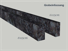 Grabeinfassung, Granit, Bahama Blue, Orion, Standard 6x15cm, NEU!!