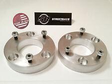 """[SR] Billet 2"""" Front Leveling Lift Kit 04-17 Ford F150 4WD 2WD (Strut Spacer)"""