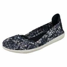 Peep Toe Casual Floral Flats for Women