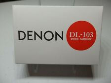 DENON DL-103 DL103 MC Moving Coil Stereo Cartridge New !!!