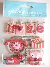 Jolee's Boutique Pegatinas-San Valentín Palabras Amor