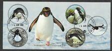 Ross Dependency- Birds-Penguins min sheet used
