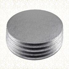 5 x Cake Drum 35 cm rund SILBER (13 mm) - Cakeboard CULPITT