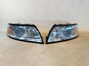 GENUINE VOLVO S40 V50 Facelift 08-12 LHD FRONT XENON HEADLIGHT RIGHT & LEFT SET