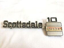 Vintage  1970S GMC TRUCKS SCOTTSDALE DIESEL 10 EMBLEM-CAST NO. 349690