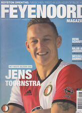 Programme / Magazine Feyenoord Rotterdam 10e jaargang no.9 April 2017