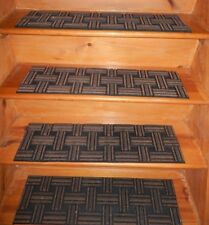 4 = STEP  8.1/2'' x 30'' 100% Rubber Outdoor Stair Treads