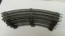 Vintage O32 Scale Gauge Train Curved Track Set Of 8 Pieces tr770