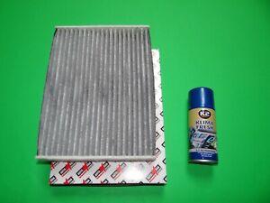 Aktivkohle Pollenfilter / Innenraumfilter + Klimareiniger Fiat Talento 2 (296)
