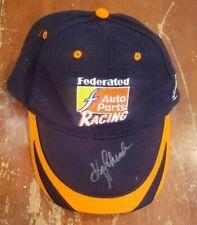 Ken Schrader Autographed Federated Auto Parts Racing Hat Cap NASCAR
