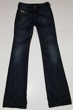 Diesel Ronhar Womens Jeans Stretch 24x32 Dark Wash Boot Cut Made in Italy EUC