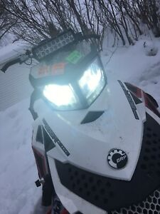 2015 Ski Doo Freeride 800 Etec LED Headlight Kit Plug & Play SOLD BY SNOWMOBILER
