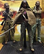The Walking Dead Michonne And Pets, 1/6 Scale Action Figures