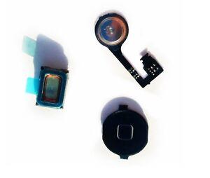 For iPhone 4s Home Return Menu Flex Cable Plus Ear Speaker Part A1431 A1387