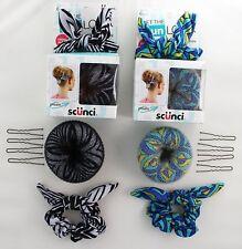 Scunci Get the Look Bun Maker 6 Piece Kit (2 Packs)