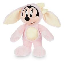 MINNIE MOUSE EASTER BUNNY PLUSH 2016 GENUINE AUTHENTIC DISNEY STORE PATCH NWT