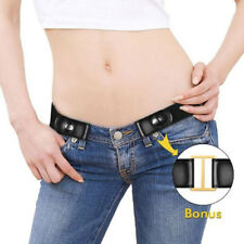 Buckle- Elastic Unisex Adjustable Invisible Belt for Jeans No Bulge Hassle