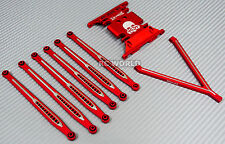 AXIAL SCX10 Metal SKID PLATE + Front & Rear METAL TRAILING ARMS + Hardaware