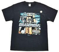 Vintage Florida Marlins 03 World Series Champions Tee Black Size L Mens T Shirt